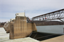 Beaver County officials and media representatives toured Montgomery Locks and Dam, April 4, 2013.