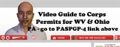 Click here for an educational video guide to Corps Permits