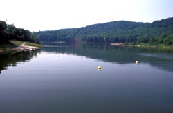 View of Stonewall Jackson Lake