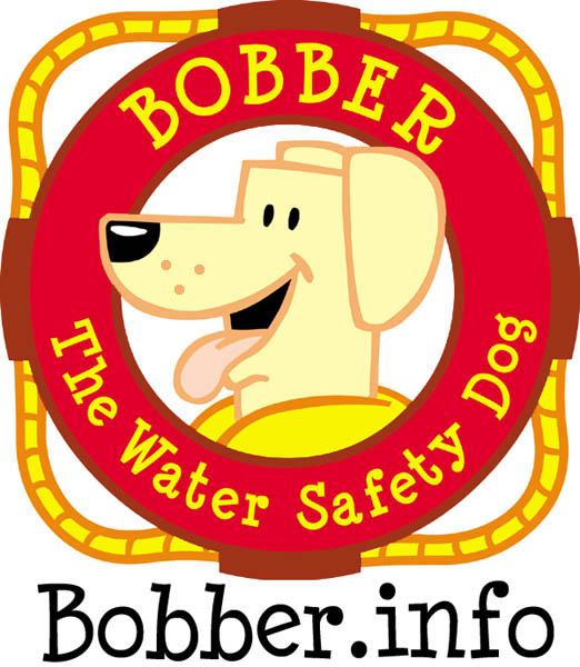 Bobber the Water Safety Dog image and link to web site